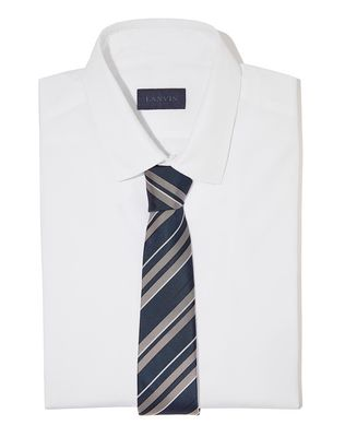 NAVY BLUE CLUB TIE