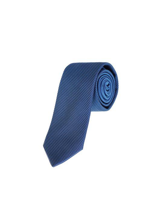 lanvin dégradé navy blue tie men