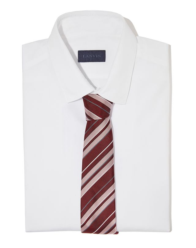 LANVIN RED CLUB TIE Tie U r