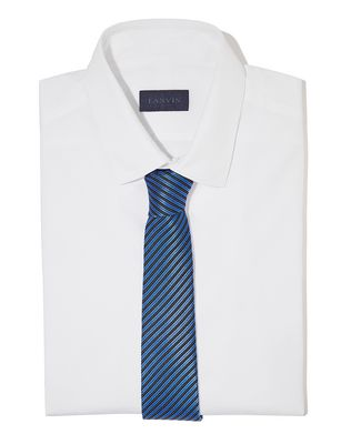 NAVY BLUE STRIPE TIE