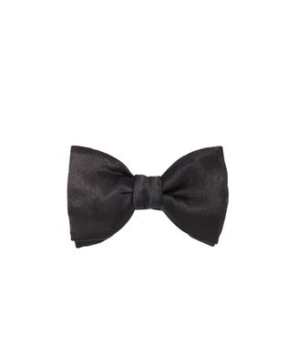 """NEW FANCY"" BLACK BOW TIE"