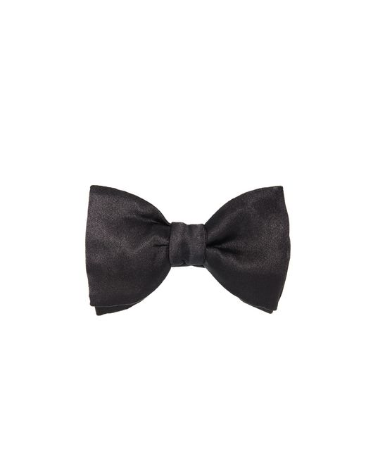 "lanvin ""new fancy"" black bow tie men"