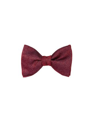 """NEW FANCY"" RED BOW TIE"