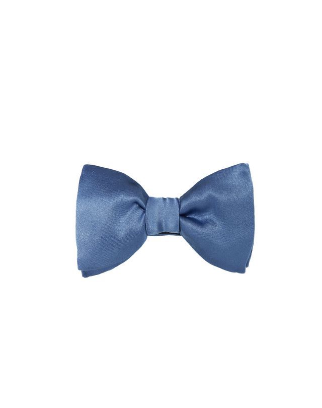 "LANVIN ""NEW FANCY"" BLUE BOW TIE Bow tie U f"
