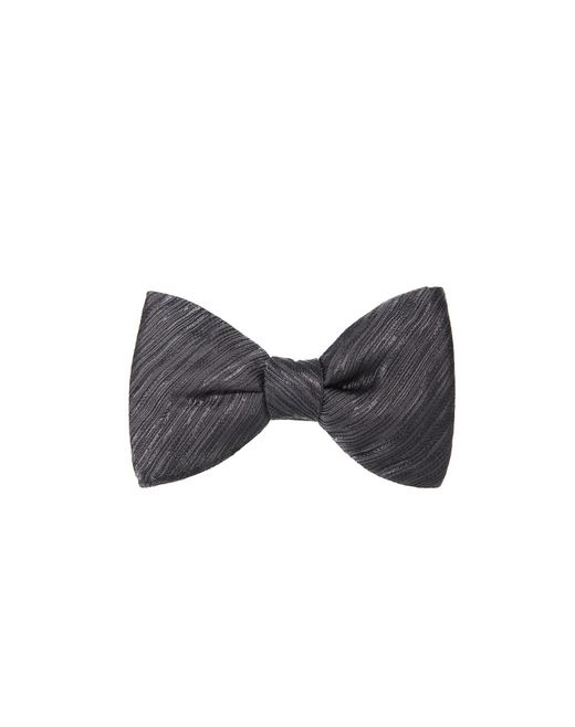 "lanvin ""new fancy"" grey bow tie men"