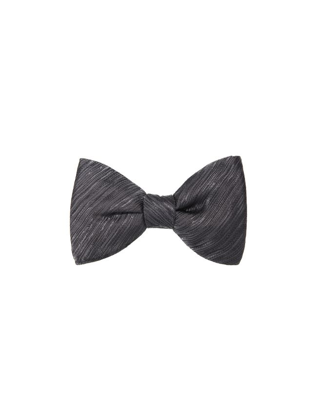 "LANVIN ""NEW FANCY"" GREY BOW TIE Bow tie U f"