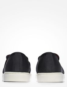 ARMANI EXCHANGE PERFORATED SLIP-ON SNEAKERS SLIP-ON [*** pickupInStoreShippingNotGuaranteed_info ***] d