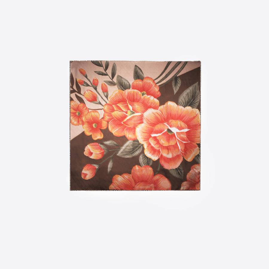 BALENCIAGA Flowers Scarf Scarves & foulards D f