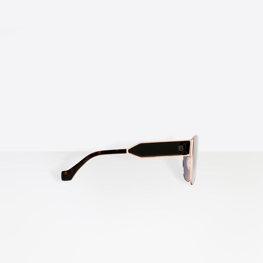 BALENCIAGA Round Geometric Sunglasses  Sunglasses D d