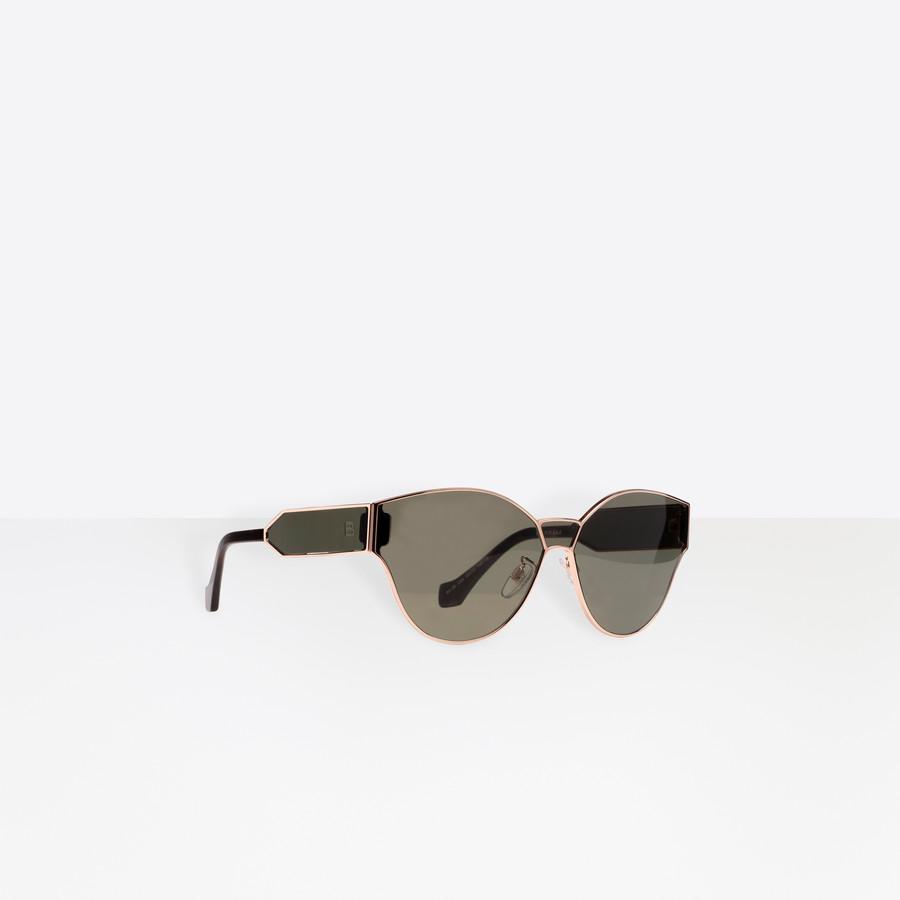 BALENCIAGA Round Geometric Sunglasses  Sunglasses D f