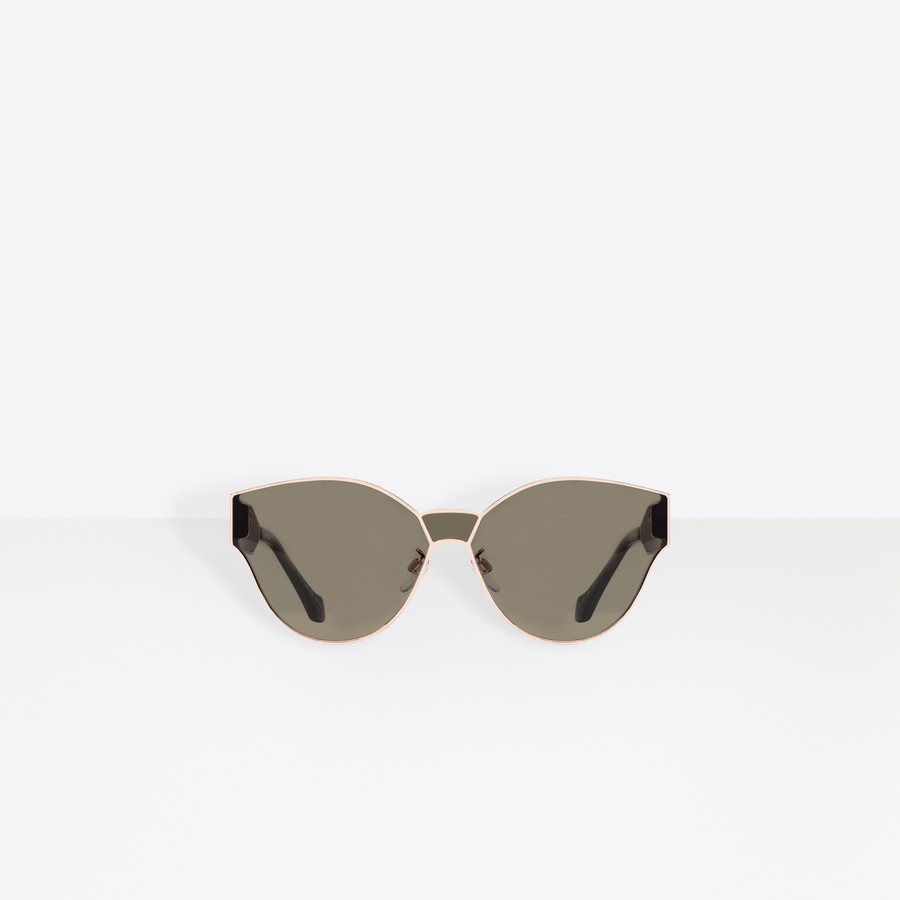 BALENCIAGA Round Geometric Sunglasses  Sunglasses D i