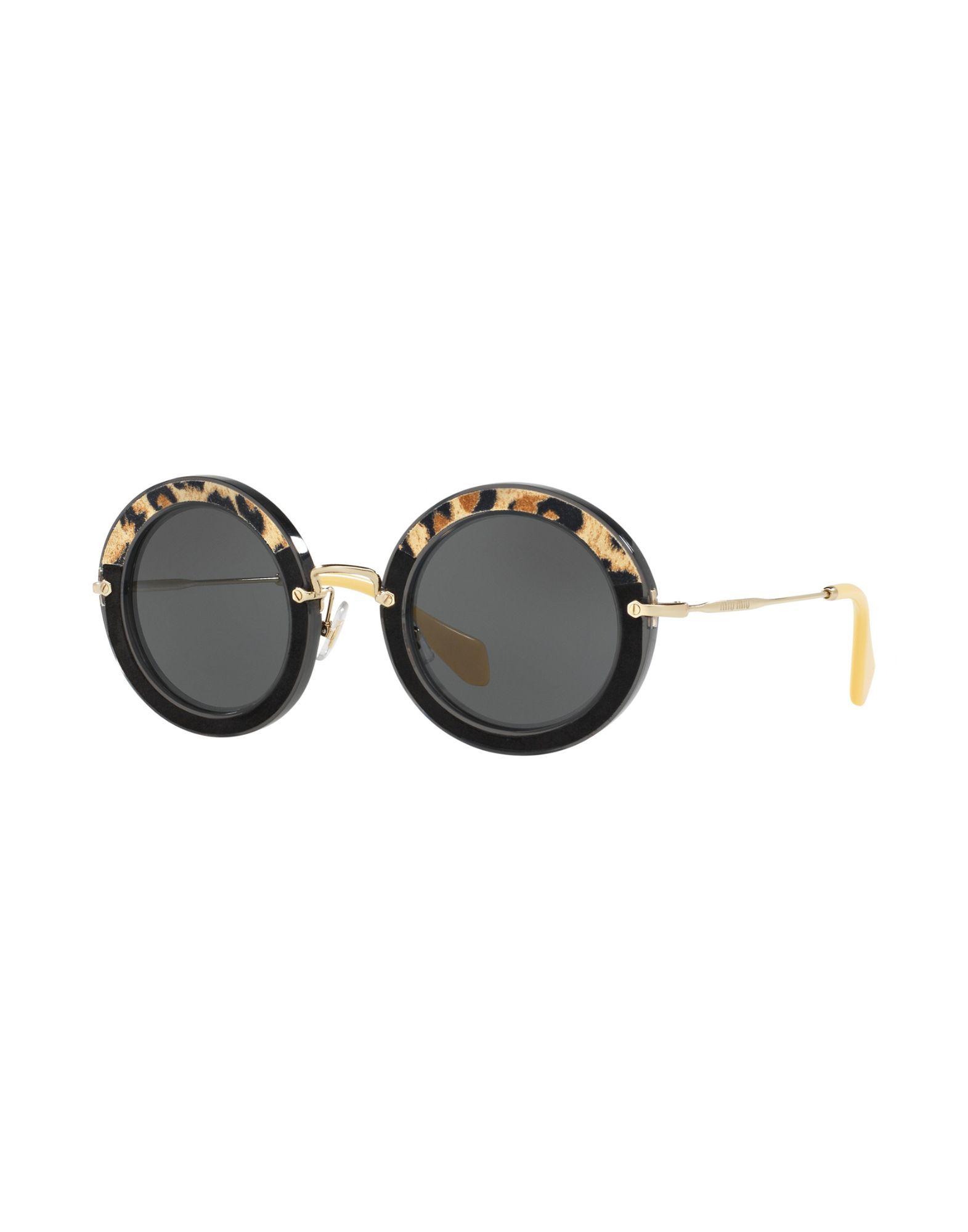 MIU MIU Солнечные очки бусы из янтаря солнечные дни