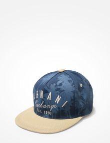 ARMANI EXCHANGE PALM TREE PRINT HAT Hat Man f