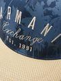 ARMANI EXCHANGE PALM TREE PRINT HAT Hat Man d