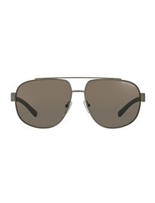 3fd52470af19e Armani Exchange CONTEMPORARY AVIATOR SUNGLASSES