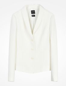ARMANI EXCHANGE TEXTURED BLAZER Blazer Woman b