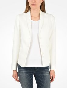 ARMANI EXCHANGE TEXTURED BLAZER Blazer Woman f