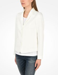 ARMANI EXCHANGE TEXTURED BLAZER Blazer Woman r