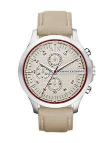 ARMANI EXCHANGE TAUPE AND BURGUNDY MULTIFEATURE WATCH Watch D f