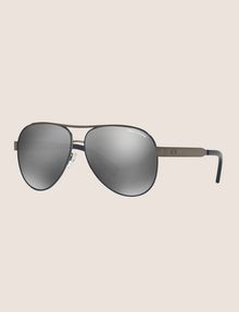 ARMANI EXCHANGE WRAP AROUND AVIATOR SUNGLASSES Sunglass [*** pickupInStoreShipping_info ***] e