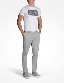 ARMANI EXCHANGE CLASSIC SLIM-FIT CHINO PANTS Chino Man a
