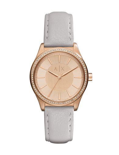 ROSE GOLD-TONE GLAM WATCH