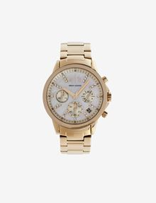 ARMANI EXCHANGE EMBEDDED SHINE STONES CHRONOGRAPH Watch Woman f