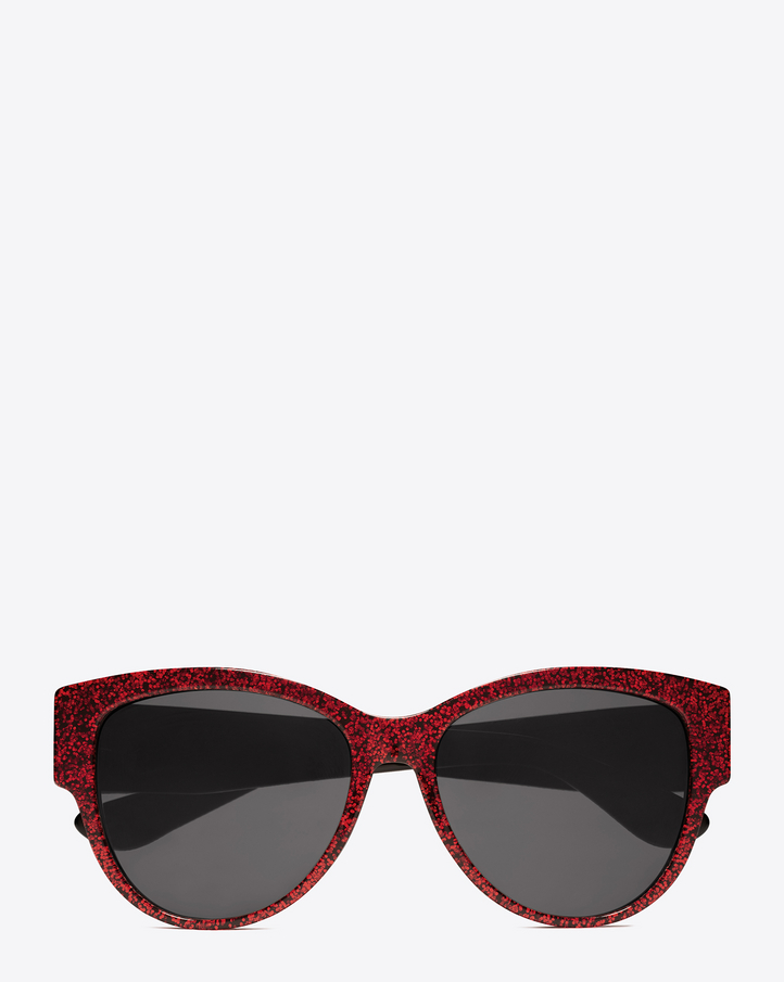 Monogram M3 sunglasses - Red Saint Laurent Eyewear NIqnipRel