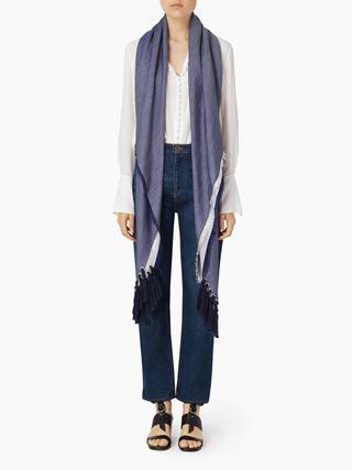 Summer Pompon scarf