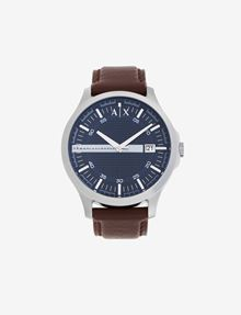 ARMANI EXCHANGE OROLOGIO CON PLACCHETTA LOGATA NEL QUADRANTE Watch Man f