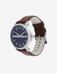ARMANI EXCHANGE OROLOGIO CON PLACCHETTA LOGATA NEL QUADRANTE Fashion Watch [*** pickupInStoreShippingNotGuaranteed_info ***] r
