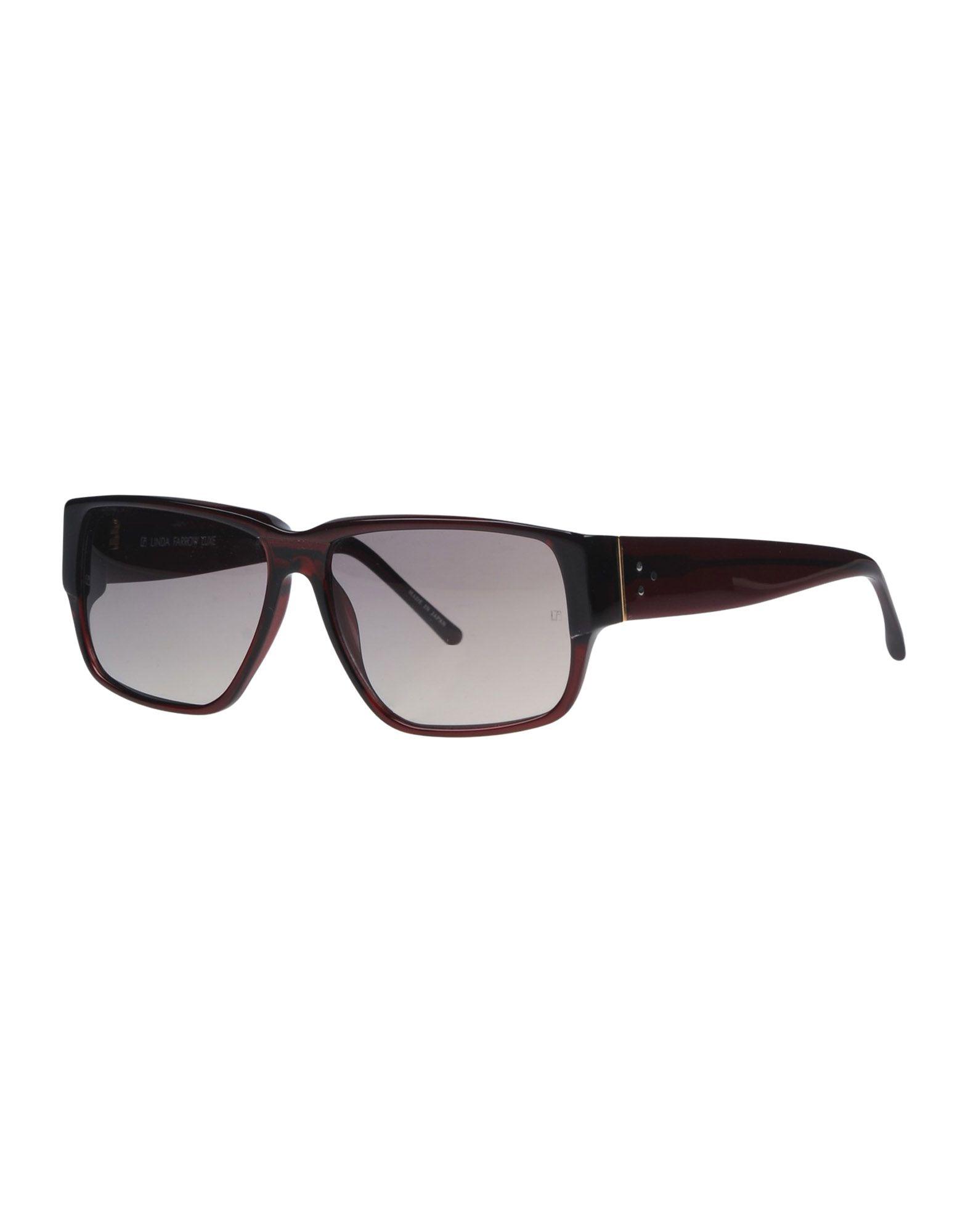 LINDA FARROW LUXE Солнечные очки бусы из янтаря солнечные дни