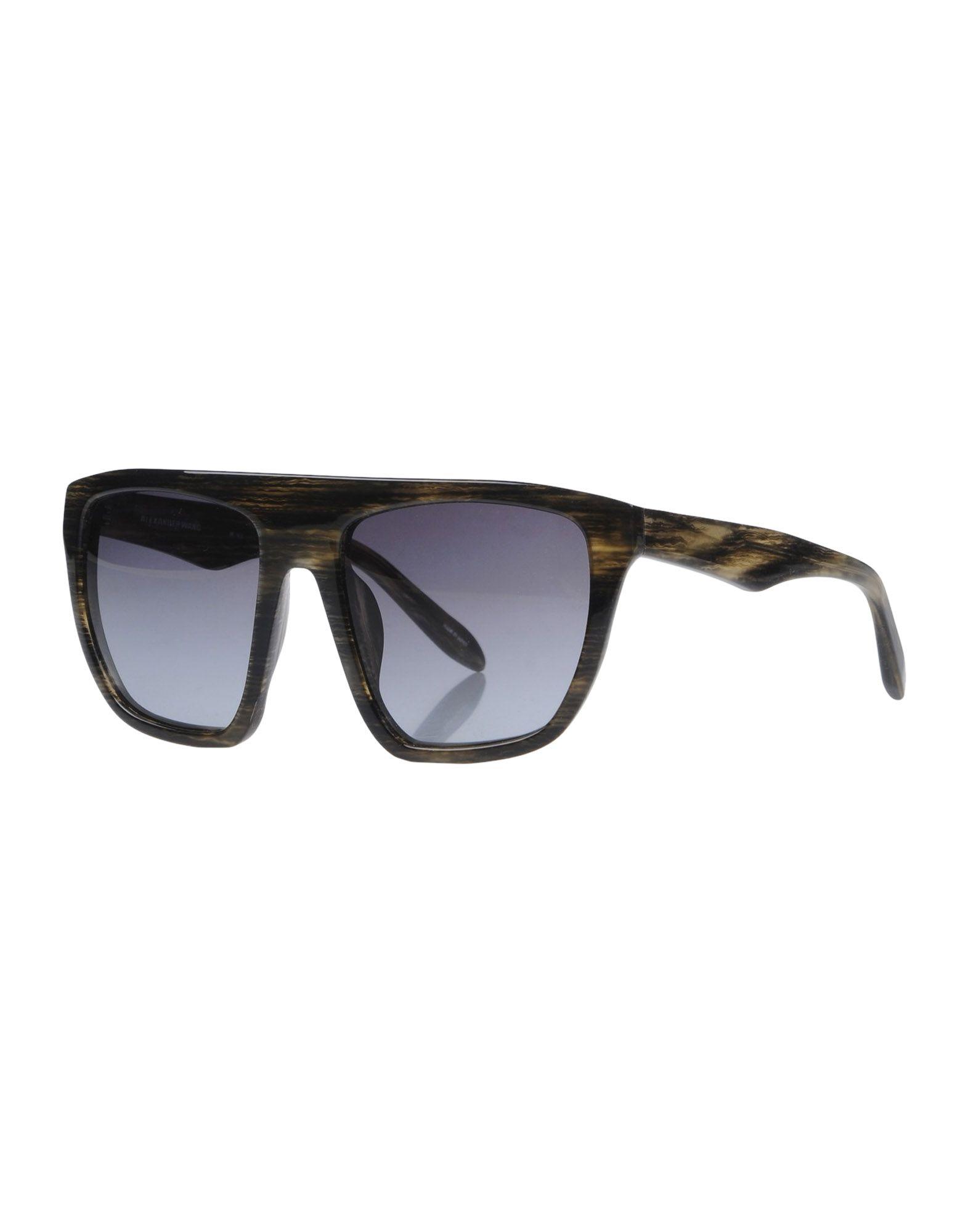 ALEXANDER WANG BY LINDA FARROW Солнечные очки linda farrow with matthew williamson солнечные очки