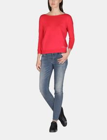 ARMANI EXCHANGE LONG SLEEVE CROSS BACK SWEATER Pullover Woman a
