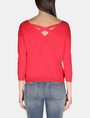 ARMANI EXCHANGE LONG SLEEVE CROSS BACK SWEATER Pullover D r