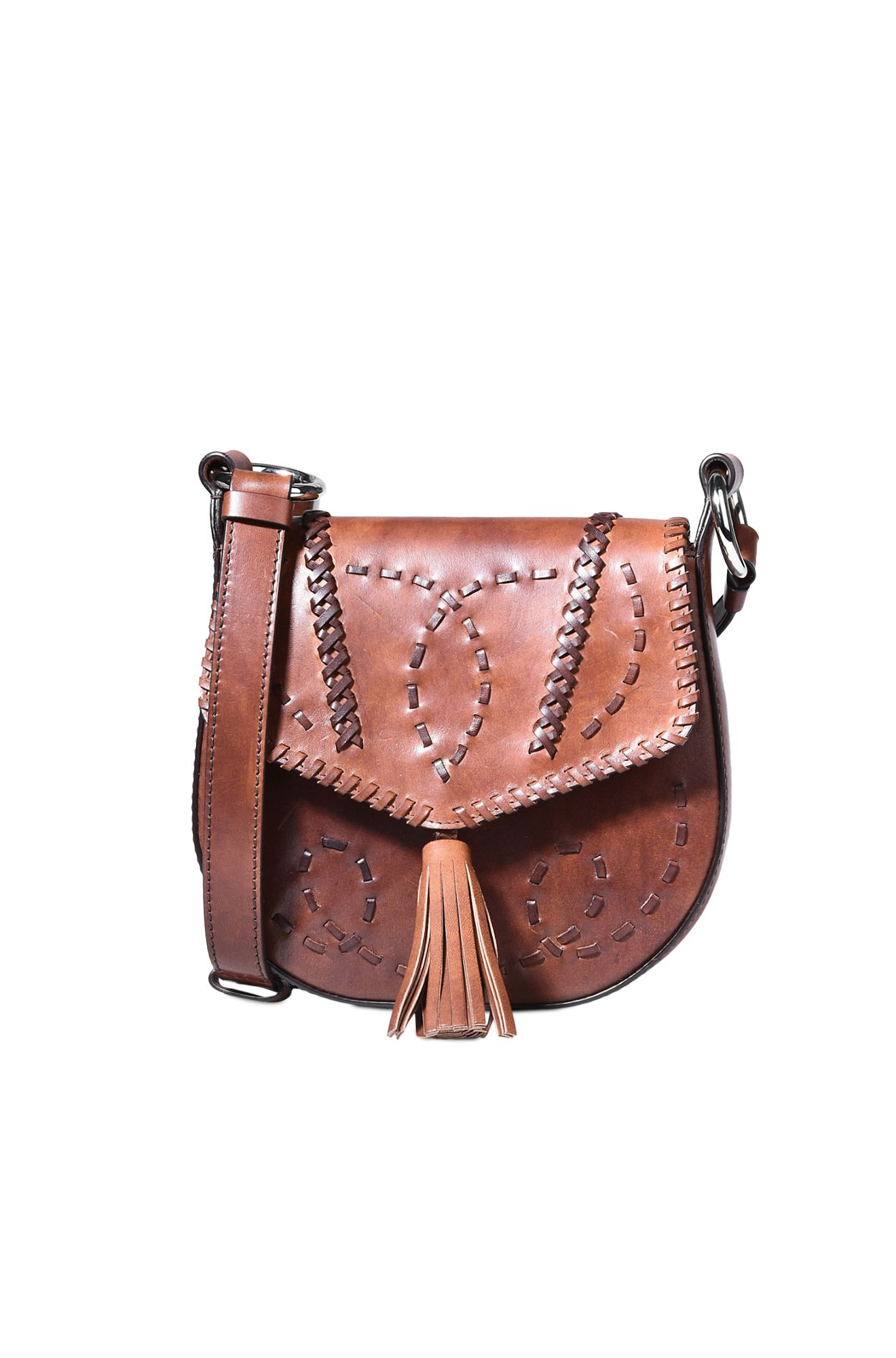 TASSEL LEATHER BAG