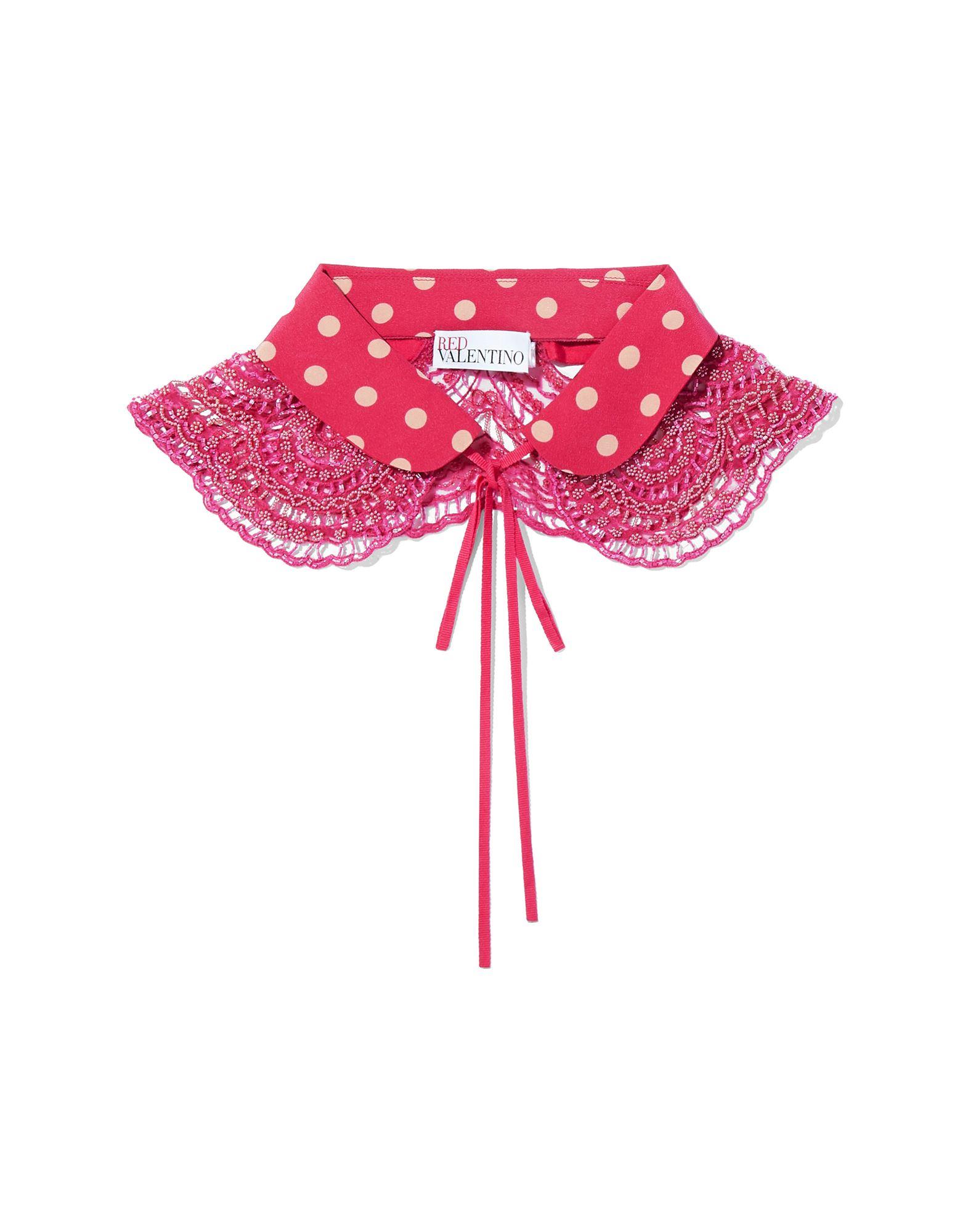 《セール開催中》RED(V) レディース ネックカラー ピンク L シルク 100%