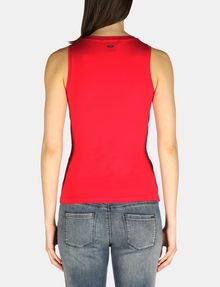 ARMANI EXCHANGE SLEEVELESS TIE WAIST TOP S/L Knit Top Woman r