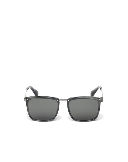 lanvin square sunglasses men