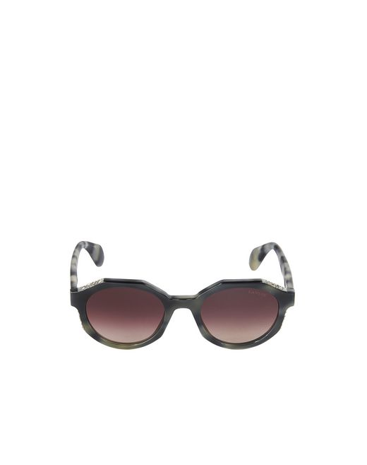 lanvin round sunglasses women