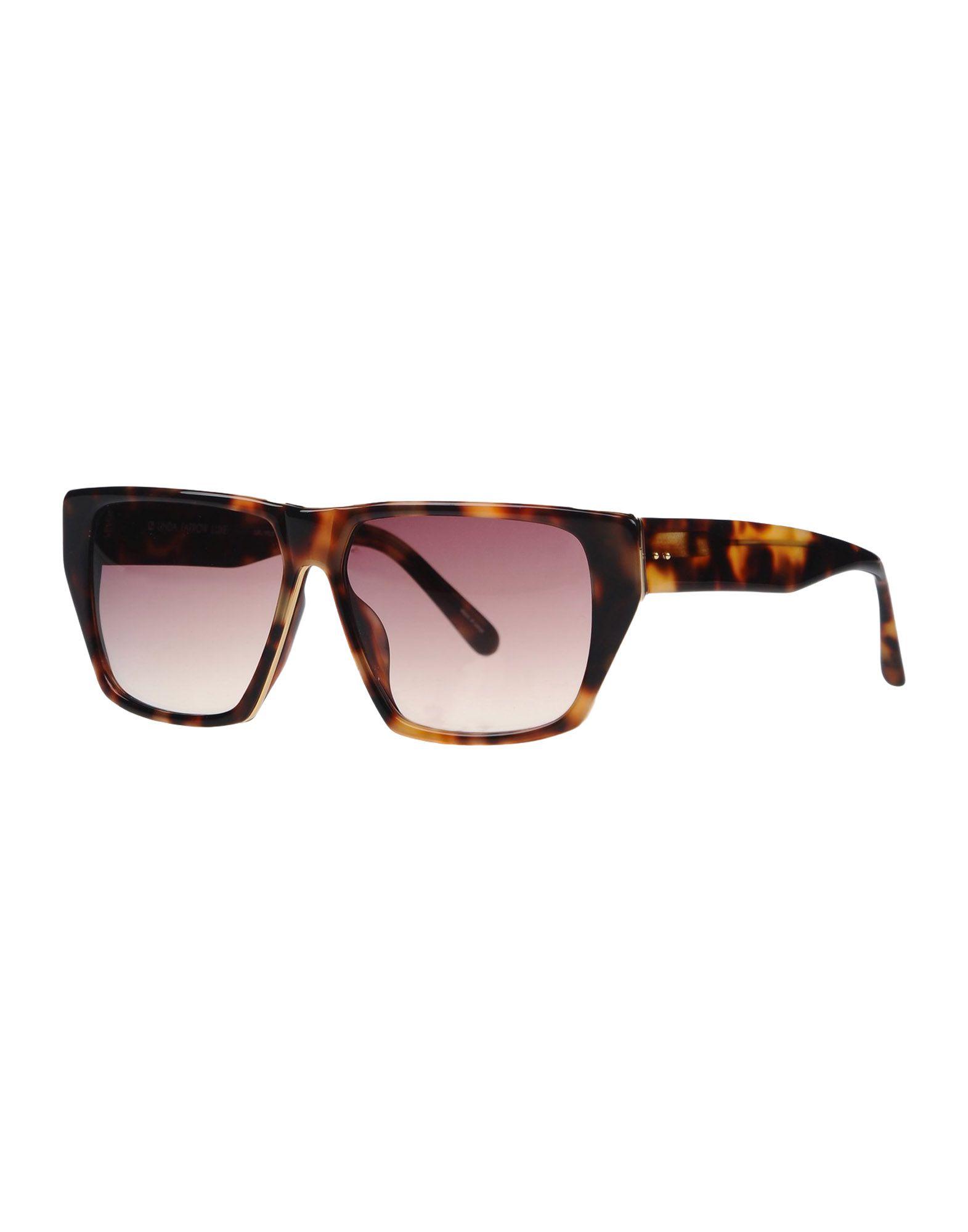 LINDA FARROW LUXE Солнечные очки linda farrow with matthew williamson солнечные очки