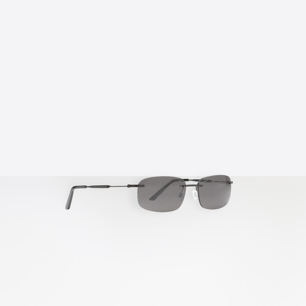 Logo Rectangular Sunglasses