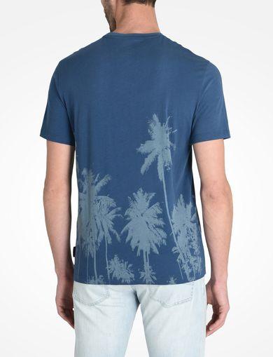 パームツリープリントTシャツ