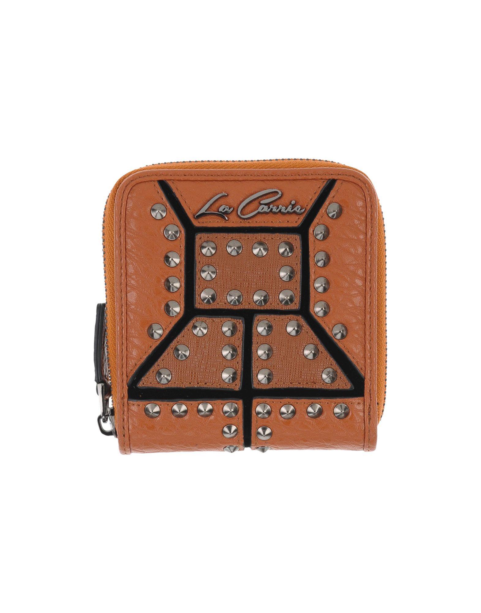 LA CARRIE BAG Damen Brieftasche Farbe Lederfarben Größe 1