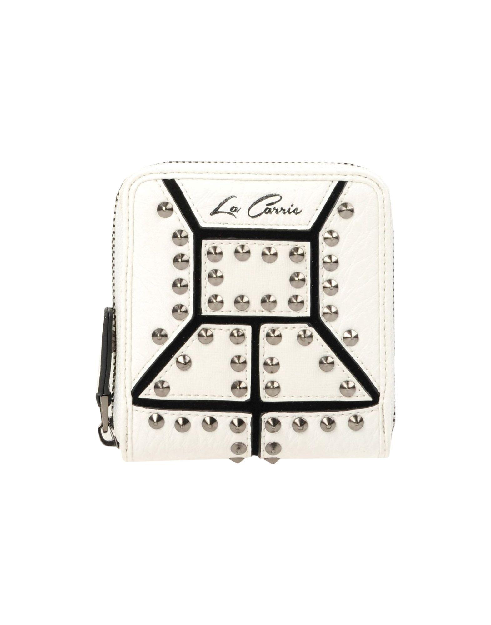 LA CARRIE BAG Damen Brieftasche Farbe Weiß Größe 1