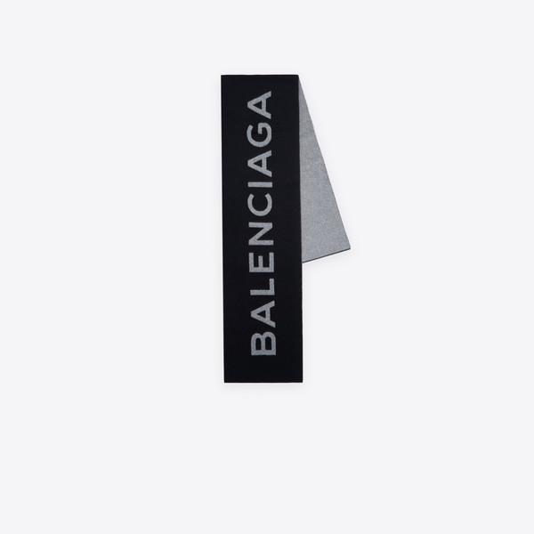 バレンシアガ マクロ スカーフ