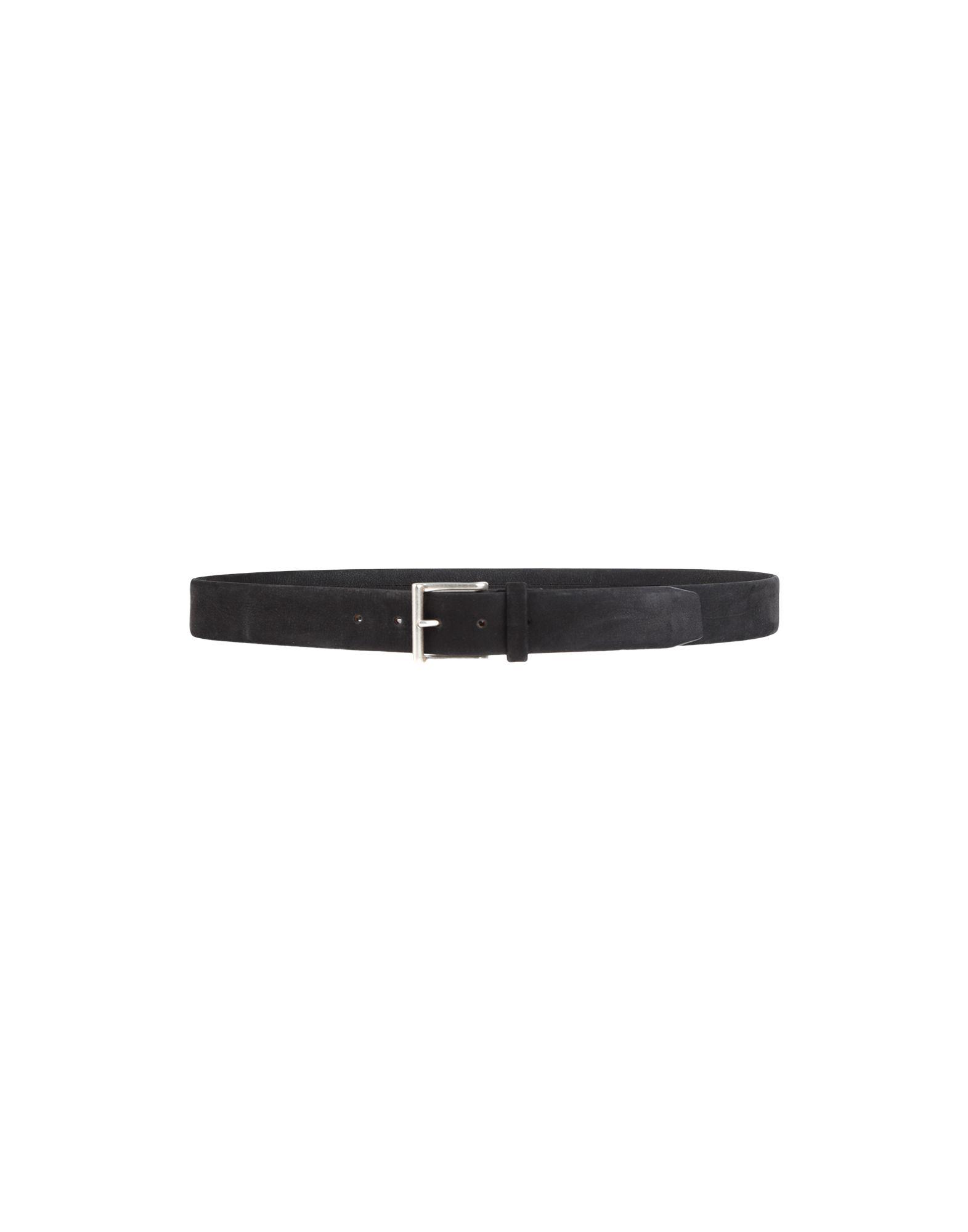 《セール開催中》ORCIANI メンズ ベルト ブラック 105 革