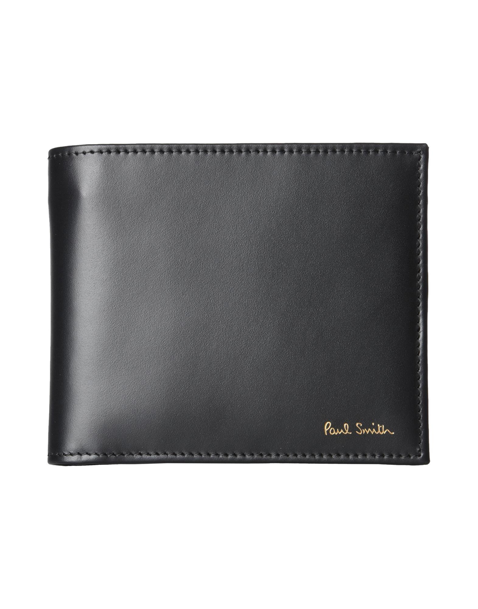メンズ PAUL SMITH MEN WALLET BFOLD INT MUL 財布  ブラック