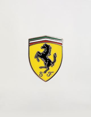 Scuderia Ferrari Online Store - Polished pin with Ferrari Shield - Brooches & Pins