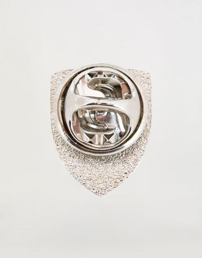 Polished pin with Ferrari Shield